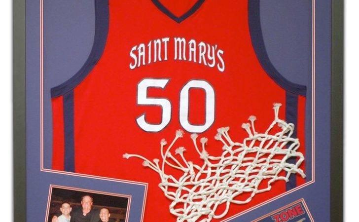 Framed Collegiat Basketball Jersey