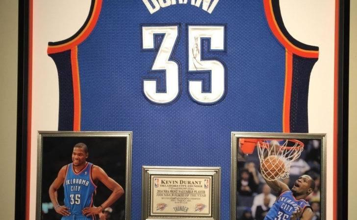 Framed Jerseys Autographed Basketball Custom