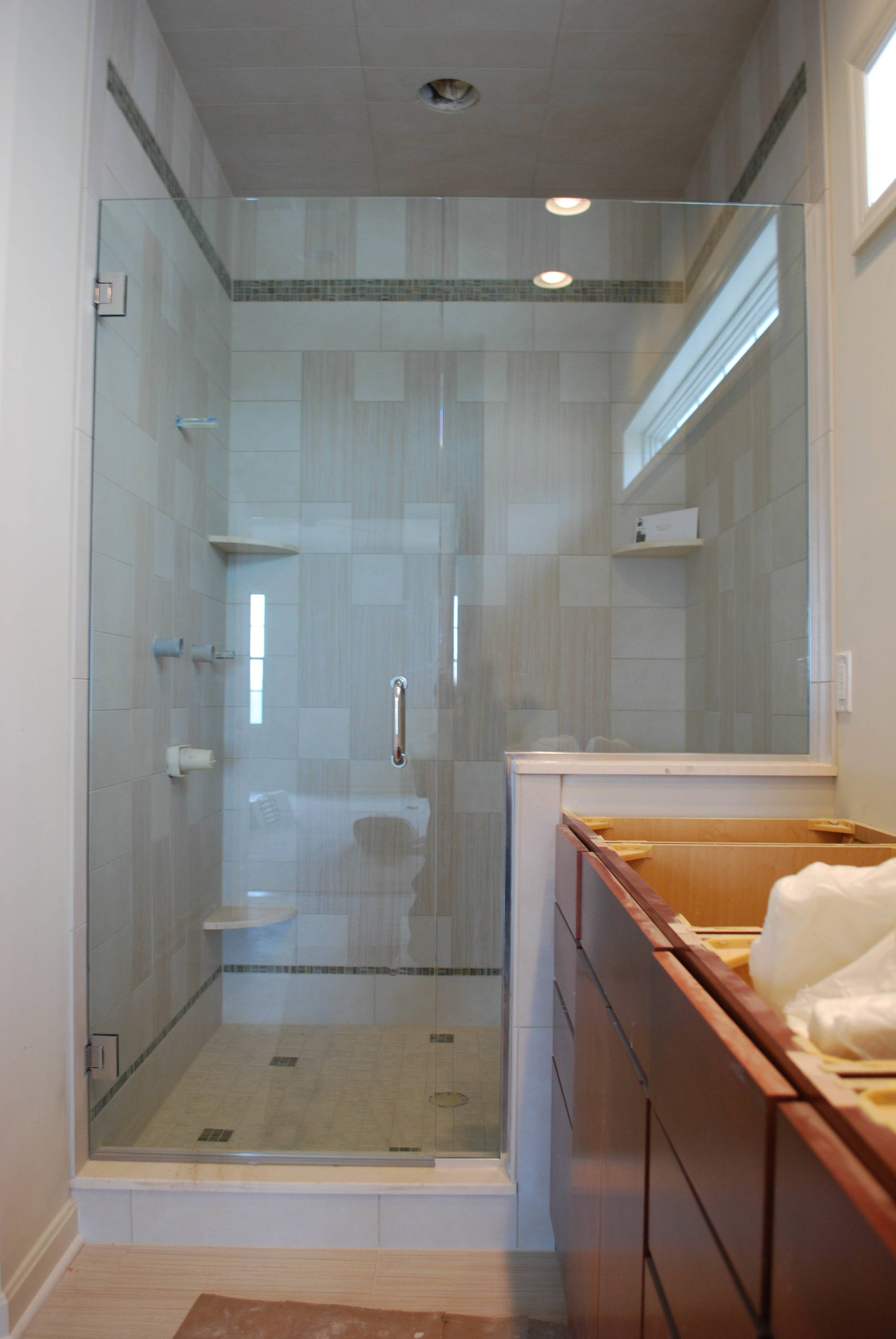 Frameless Door Panel