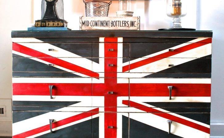 Frances Dureen Designs Union Jack Dresser