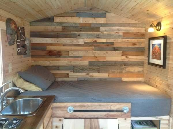 Frank Diy Tiny House Houses Real Sized People Pinterest