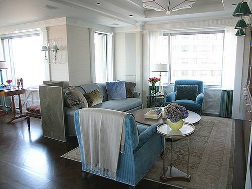 Frank Roop Turquoise Gray Living Room Flickr Sharing