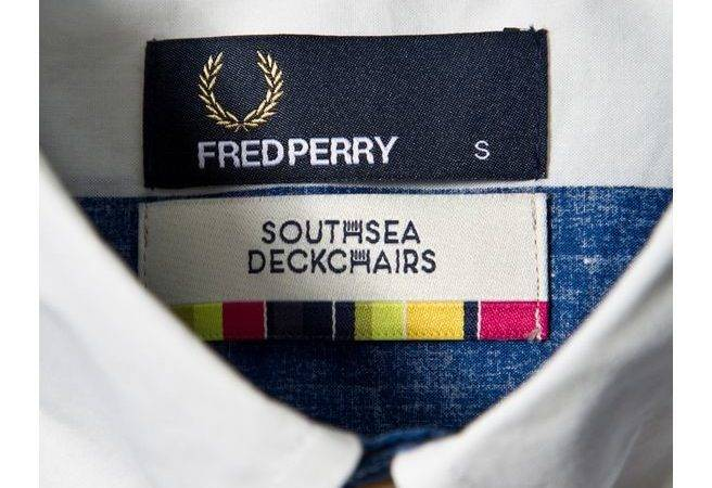 Fred Perry Southsea Deckchairs Holiday Shirt