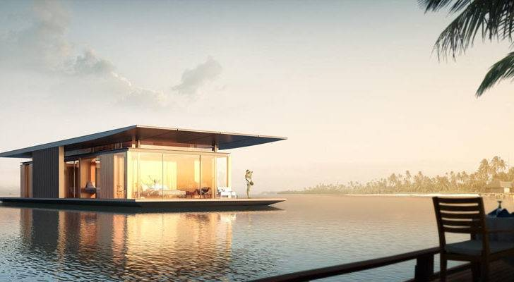 Freely Stunningly Modern Floating House Dymitr Malcew Pursuitist