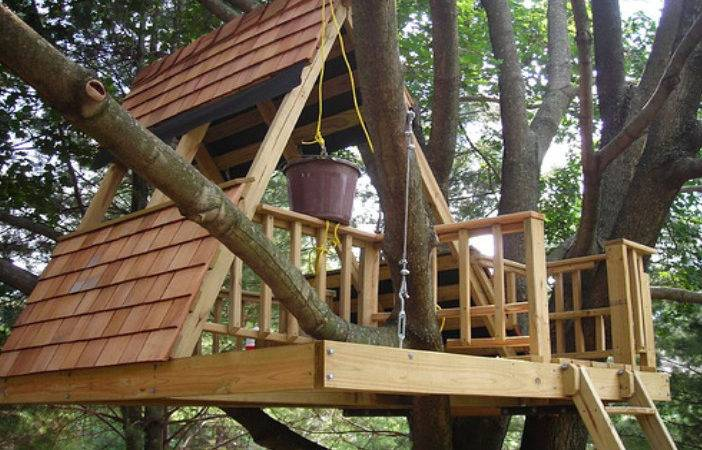 Freestanding Treehouses Post Supports Treehouse Guides