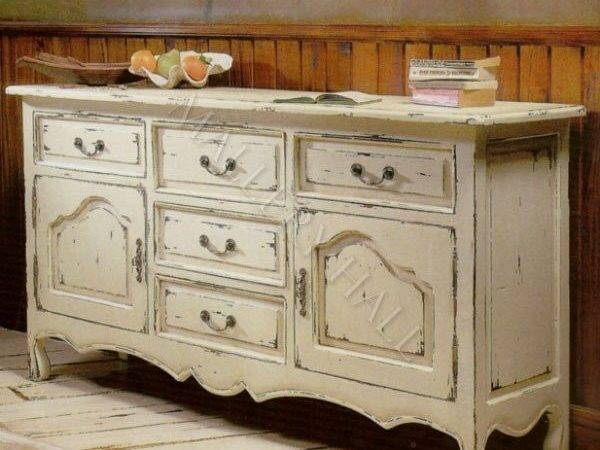 French Country Kitchen Buffet Interior Exterior Doors