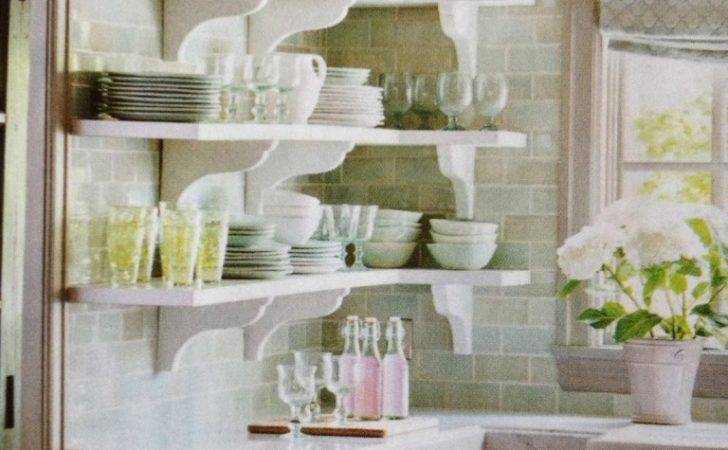 French Country Kitchen Shelves Interior Exterior Doors