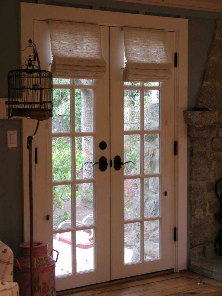 French Door Coverings