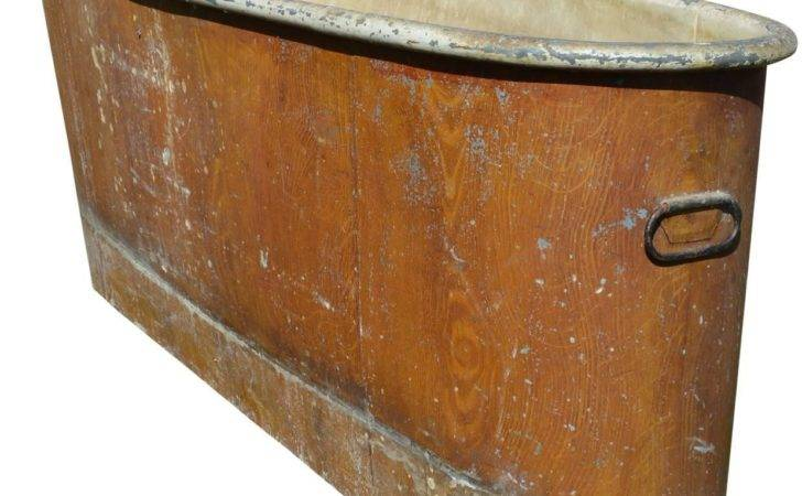 French Empire Faux Bois Copper Bath Tub Stdibs