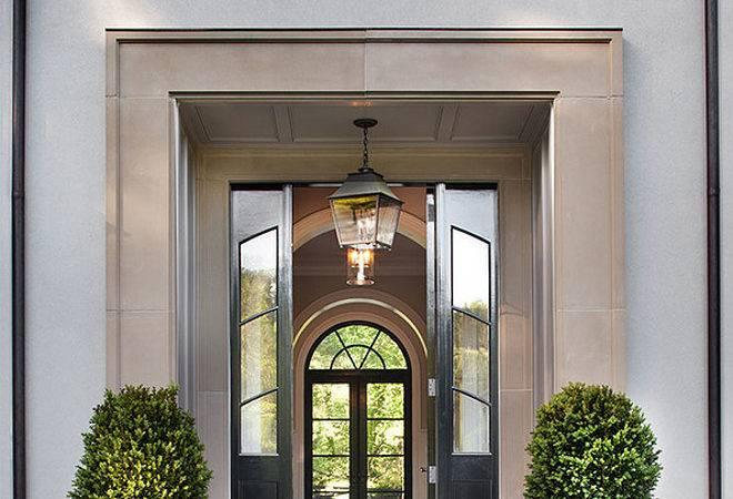 French Home Front Door Modern Steel