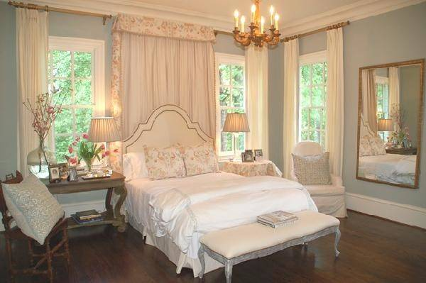 French Nightstand Transitional Bedroom Lori Tippins Interiors
