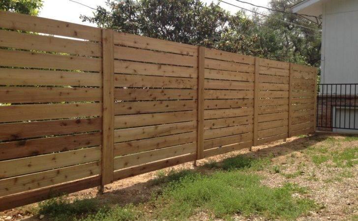 Fresh Horizontal Wood Fence Gate
