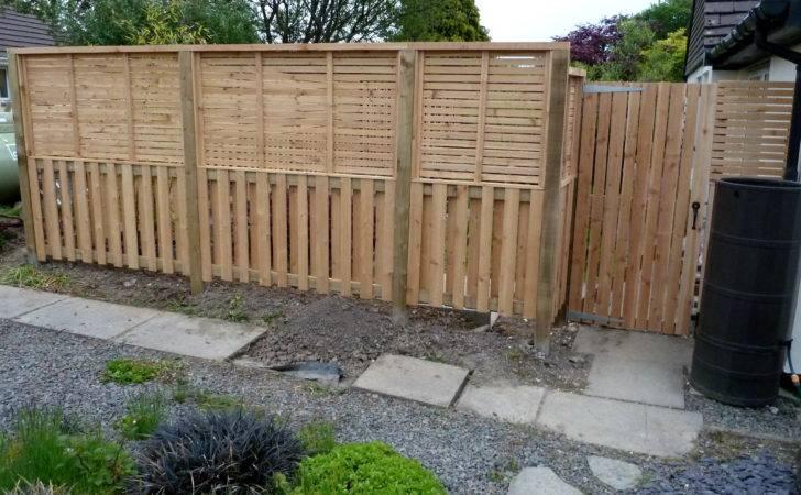 Front Bespoke Fence Western Red Cedar