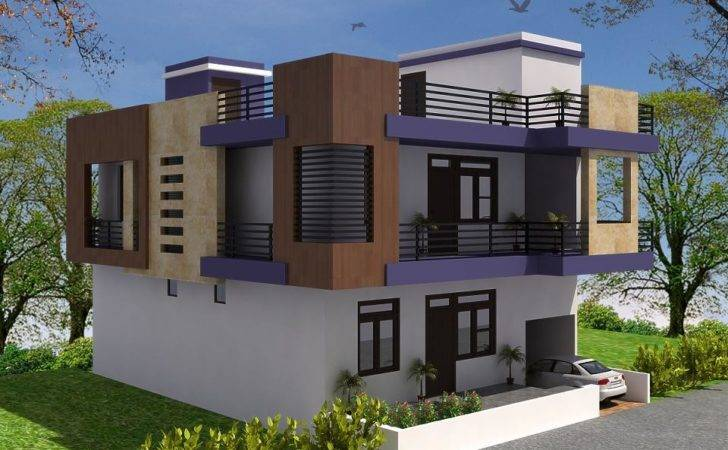 Front Elevation Independent House Joy Studio Design