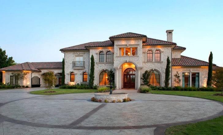 Front Elevation Preston Hollow Custom Luxury Home