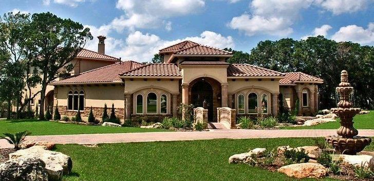 Front Elevation Zbranek Holt Custom Homes Lakeway Austin