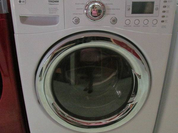 Front Load Washer Dryer White Color Set Used Tax