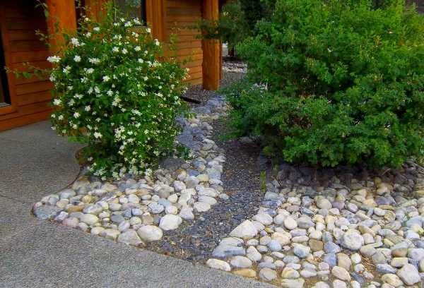 Front Yard River Rock Landscaping Ideas Easy Ways Eliminate