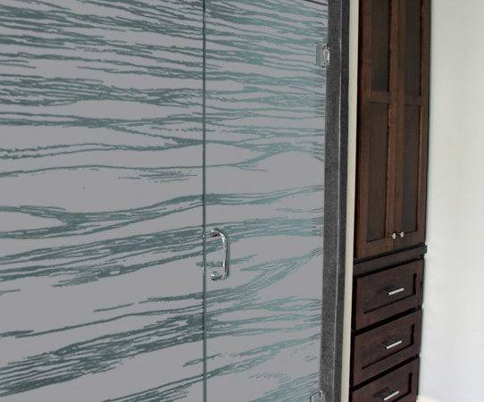 Frosted Design Have Included Optional Opaque Glass Canvas