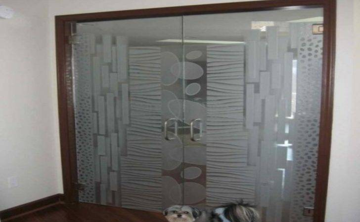 Frosted Glass Patterns Door Designs