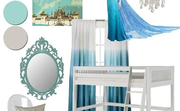 Frozen Girls Bedroom Room Decor Theme