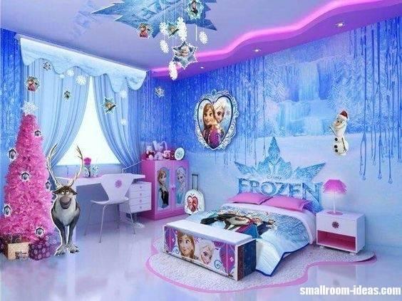 Frozen Inspired Bedroom Ideas