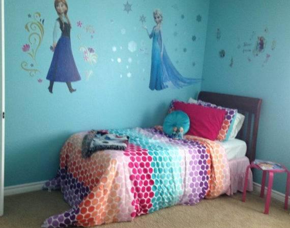 Frozen Inspired Girls Bedrooms