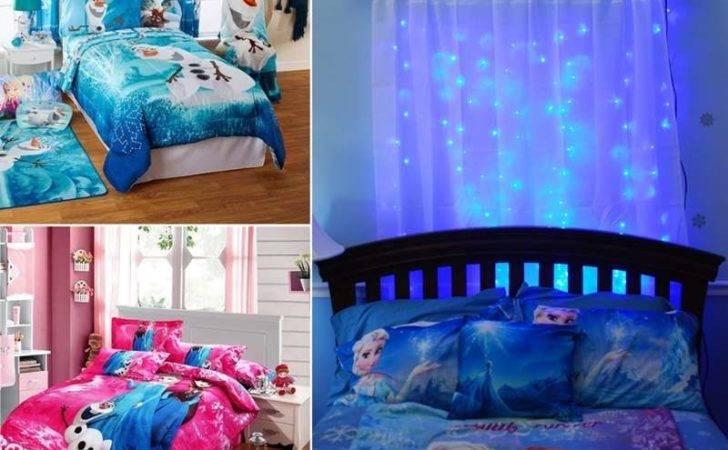 Frozen Movie Inspired Kids Room Decor Ideas