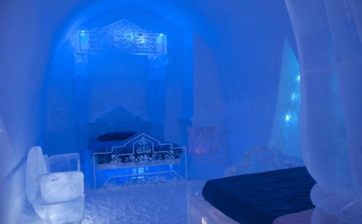 Frozen Suite Hotel Glace Super Cool Huffington Post