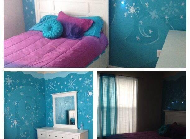 Frozen Theme Bedroom House Pinterest