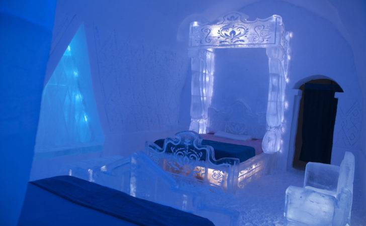 Frozen Themed Rooms Come Ice Hotel Quebec City