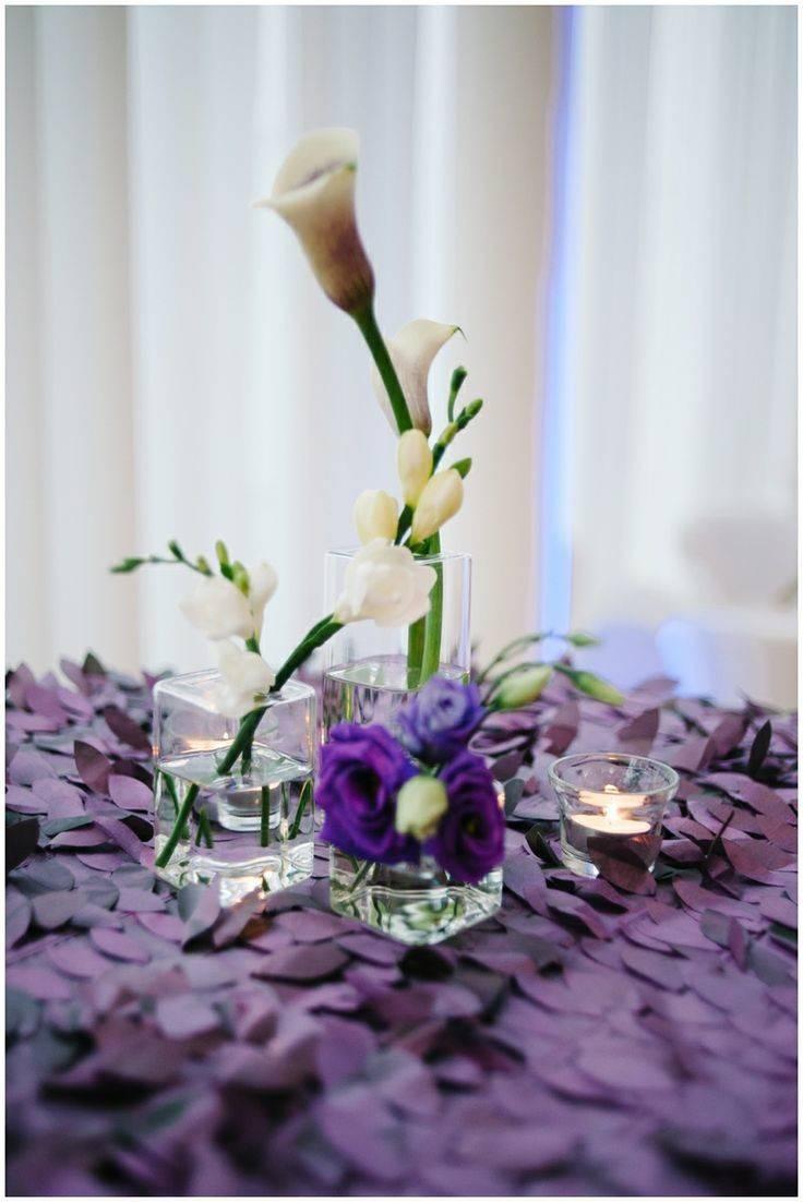 Fun Purple Wedding Linens Weddings Pinterest