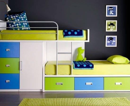 Funky Bunk Beds Space Saving Bedroom