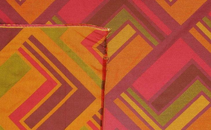 Funky Modern Retro Contemporary Bold Orange Pink