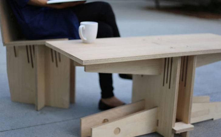 Furniture Colelction Came Clever Wood Joinery Used