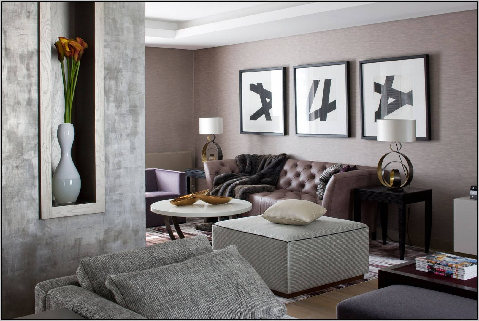 Furniture Colors Gray Walls Painting