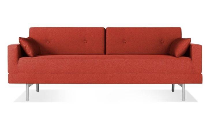 Furniture Green Semi Leather Single Modern Sofa Bed Minimalist