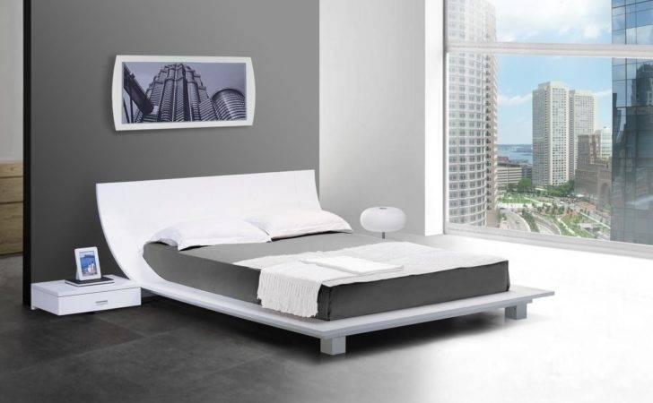 Furniture Inspiring Japanese Style Platform Bed Designs Custom Decor