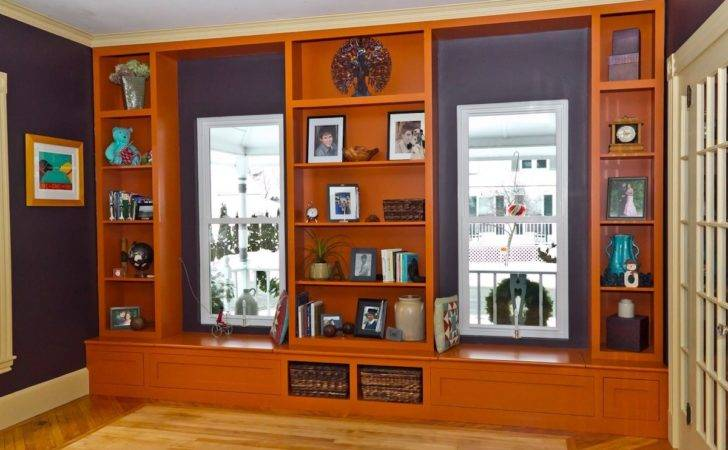 Furniture Living Room Bookcases Bookcase Window Seat