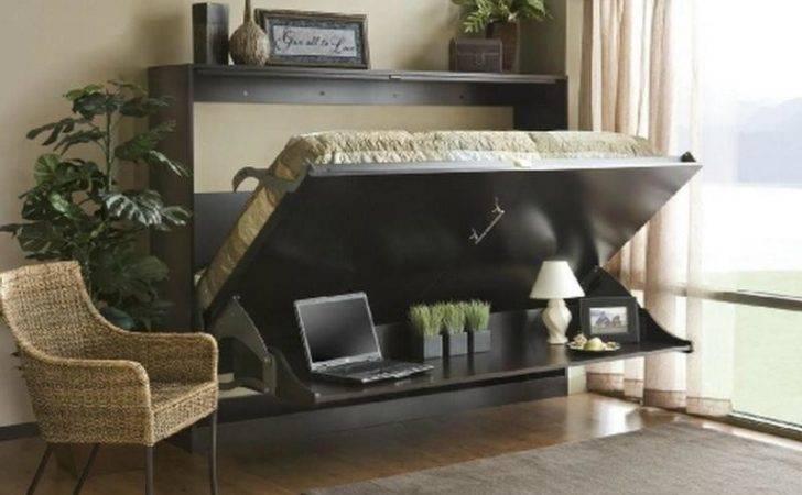 Furniture Looking Flexible Murphy Desk Beds Good