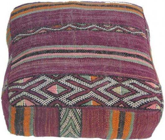 Furniture Moroccan Seating Old Kilim Floor Pillow