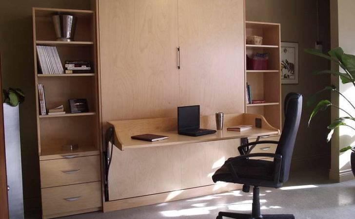 Furniture Murphy Beds Desk Bookcase