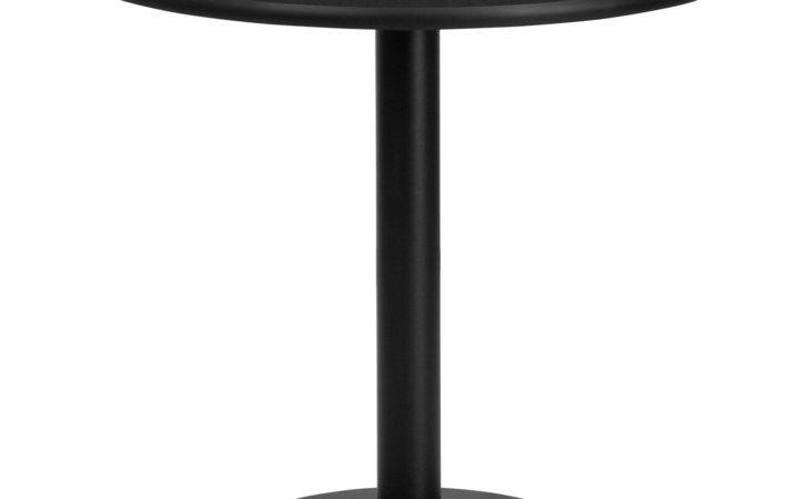 Furniture Round Standard Height Restaurant Dining Table Atg Stores