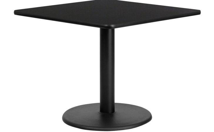 Furniture Square Standard Height Restaurant Dining Table Atg Stores