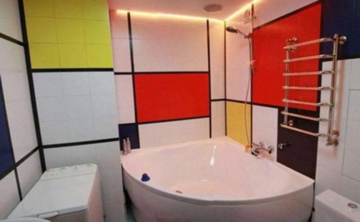Furniture Unique Colorful Piet Mondrian Interior
