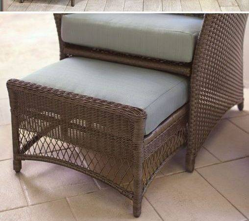 Furniture Vintage Comfy Patio Chairs Set