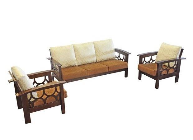 Furniturekraft Wooden Sofa Set Buy Best Price