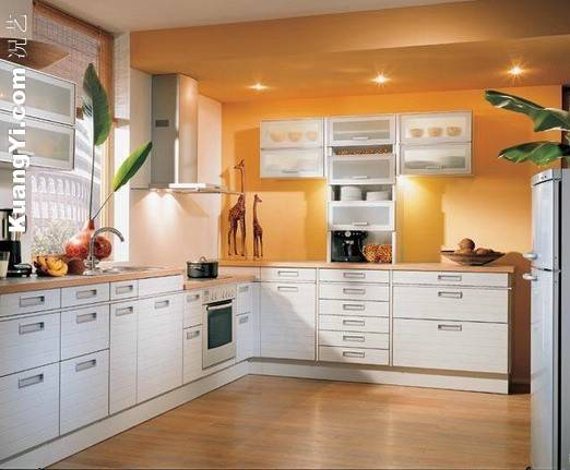 Further Kitchen Cabi Glass Doors Moreover Open Concept