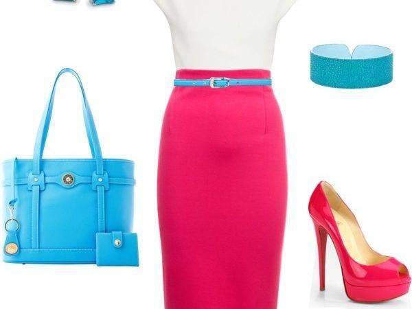 Fuschia Turquoise Work
