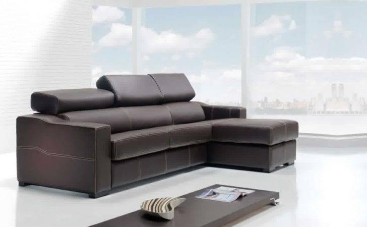 Futuristic Living Room Design Small Spaces Configurable Leather